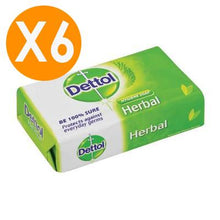 Dettol Soap Bar Herbal 175gr X6