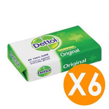 Dettol Soap Bar Original 175gr X6