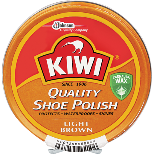 KIWI Shoe Polish Light Brown 100ml