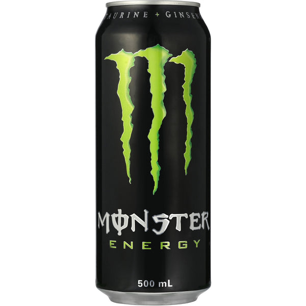 The Original Green Monster Energy 500ml X6