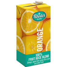 Rhodes Orange 100% Natural Juice 1 Liter