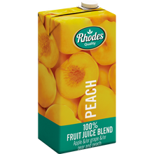 Rhodes Peach 100% Natural Juice 1 Liter