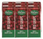 Rhodes Red Grape 100% Natural Juice 200ml
