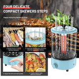 Electric Grill Automatic Rotating