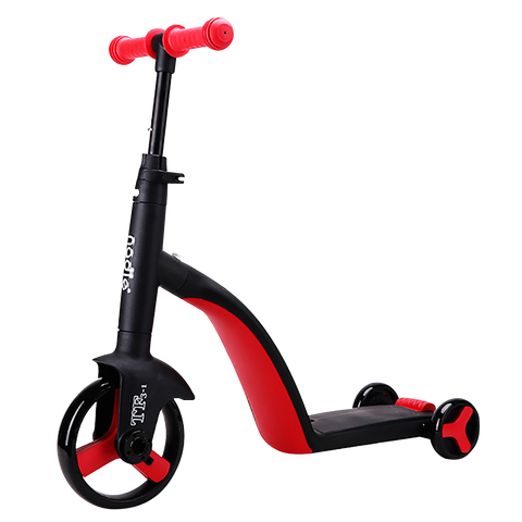 3 in 1 Children's Toddler Balance Bike Scooter