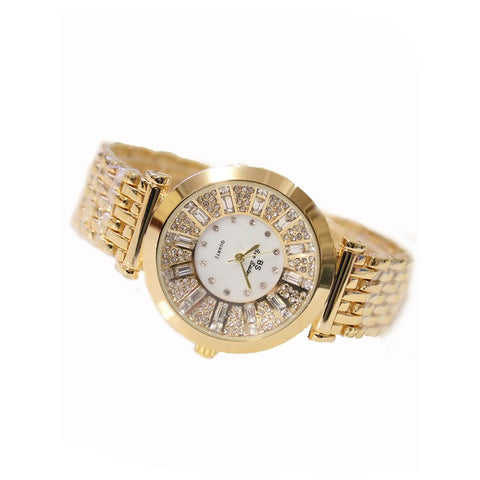 Diamond Inlaid High Quality Quartz Watch
