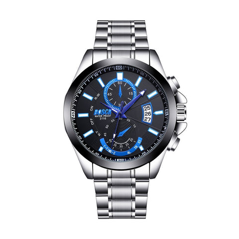 Waterproof Large Dial Night Watch