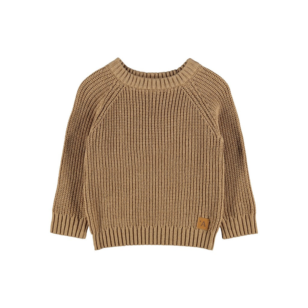 Lil Atelier - Mimilio knit | Apple cinnamon