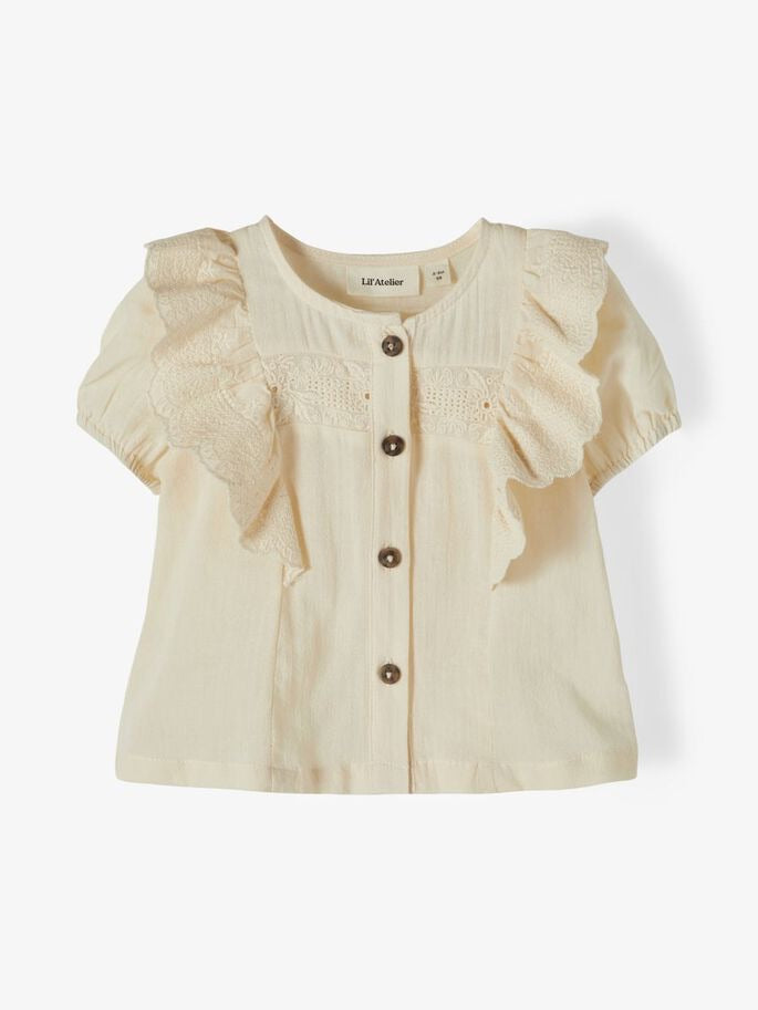 Lil' Atelier - Loose shirt ruches