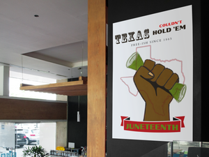 Texas Couldn't Hold 'Em Limited Edition Prints