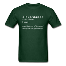 Load image into Gallery viewer, Abundance - forest green