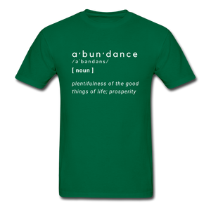 Abundance - bottlegreen