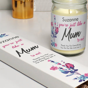 Like A Mum To Me Candle Jar & Truffles