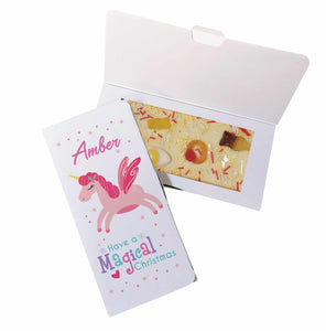 Magical Christmas White Chocolate Card
