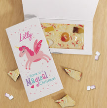 Load image into Gallery viewer, Magical Christmas White Chocolate Card