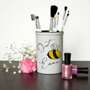 Bee You Brush Holder - One of a Kind Gifts UK