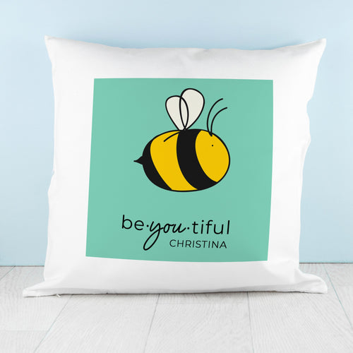 Bee You Cushion Cover - One of a Kind Gifts UK