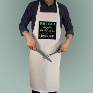 Bonus Dad Apron - One of a Kind Gifts UK