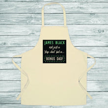 Load image into Gallery viewer, Bonus Dad Apron - One of a Kind Gifts UK