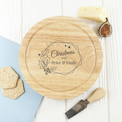 Christmas at Home Cheese Set - One of a Kind Gifts UK