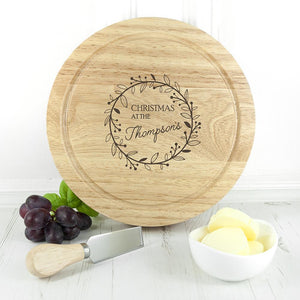 Classic Family Christmas Cheese Set - One of a Kind Gifts UK