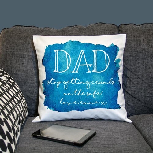 Coastal Watercolour Cover Personalised Cushion Cover - One of a Kind Gifts UK