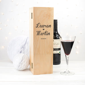 Couple's Romantic Wine Box