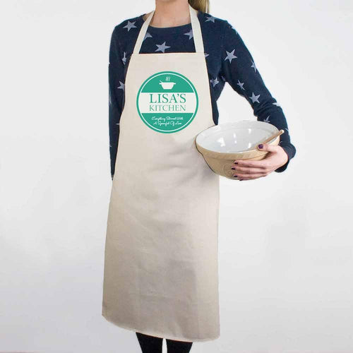 Everything Stirred with Love Apron - One of a Kind Gifts UK