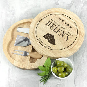 Extra Mature Cheese Board Set - One of a Kind Gifts UK