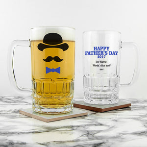 Gentleman Dad's Beer Tankard - One of a Kind Gifts UK