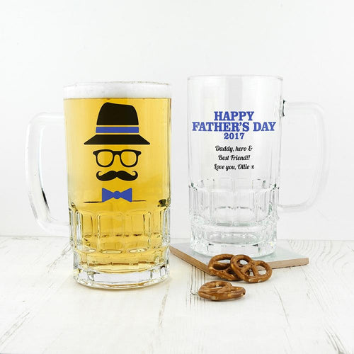 Hipster Dad's Beer Tankard - One of a Kind Gifts UK