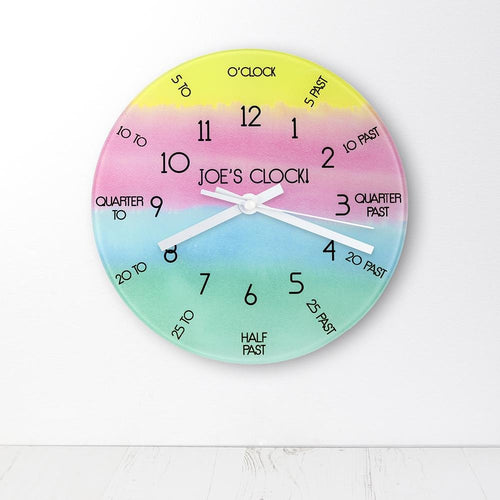 I Can Tell The Time! Personalised Wall Clock - One of a Kind Gifts UK
