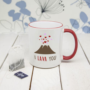 """I Lava You"" Romantic Mug - One of a Kind Gifts UK"