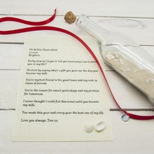 Load image into Gallery viewer, Luxury Message in a Bottle - One of a Kind Gifts UK