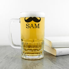 Load image into Gallery viewer, Moustache Tankard - One of a Kind Gifts UK