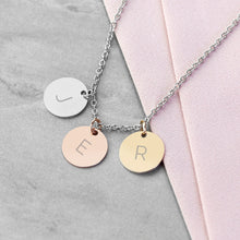 Load image into Gallery viewer, Personalised My Family Discs Necklace