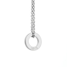 Load image into Gallery viewer, Personalised Mini Ring Necklace