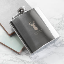Load image into Gallery viewer, Stag 6oz Hip Flask