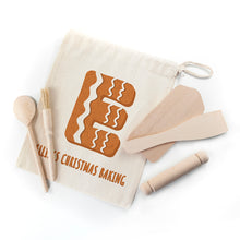 Load image into Gallery viewer, Personalised Kids Gingerbread Baking Set