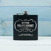 Load image into Gallery viewer, Personalised Whiskey Vintage Hip Flask