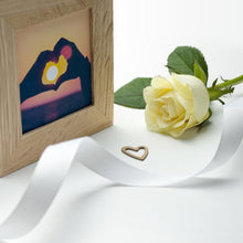 Load image into Gallery viewer, Personalised All About You Oak Photo Cube - One of a Kind Gifts UK