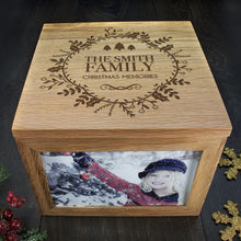 Load image into Gallery viewer, Personalised Christmas Memory Box Traditional Design - One of a Kind Gifts UK