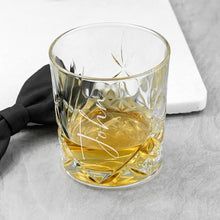Load image into Gallery viewer, Personalised Crystal Whisky Tumbler - One of a Kind Gifts UK