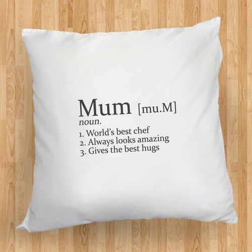 Personalised Definition Cushion Cover - One of a Kind Gifts UK