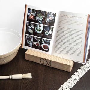 Personalised Double Kitchen Recipe Book or Tablet Holder - One of a Kind Gifts UK