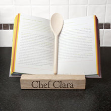Load image into Gallery viewer, Personalised Double Kitchen Recipe Book or Tablet Holder - One of a Kind Gifts UK