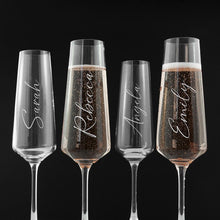Load image into Gallery viewer, Personalised Elegance Champagne Flute - One of a Kind Gifts UK
