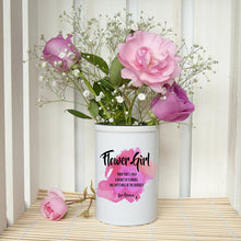 Load image into Gallery viewer, Personalised Flower Girl Vase - One of a Kind Gifts UK