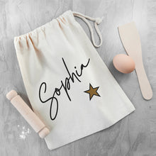 Load image into Gallery viewer, Personalised Kids Baking Set Bag