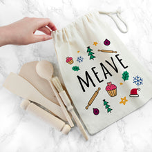 Load image into Gallery viewer, Personalised Kids Festive Baking Set